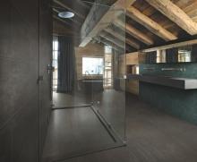 Caesar Trece bronze padlólap fürdőszoba nagy kép