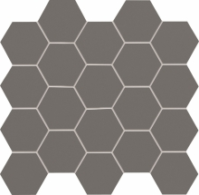 tubadzin all in white/grey mozaik 30,6x28,2